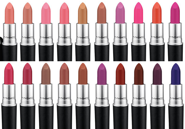 batons mac coleçao matte lip collection 2015