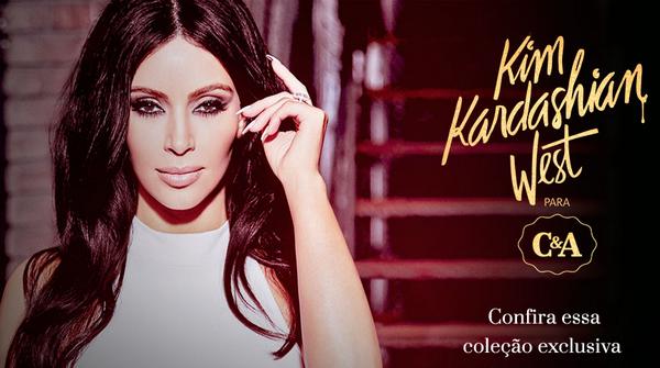 kim kardashian para c&a coleçao peças roupas looks fast fashion