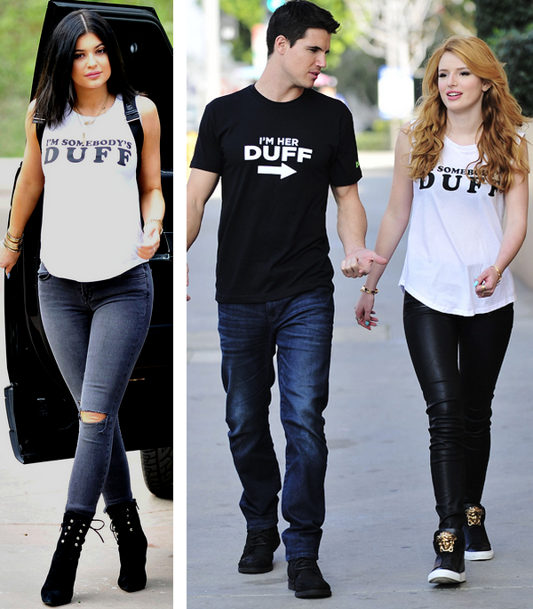 the duff t-shirt camisetas filme kylie jenner bella thorne