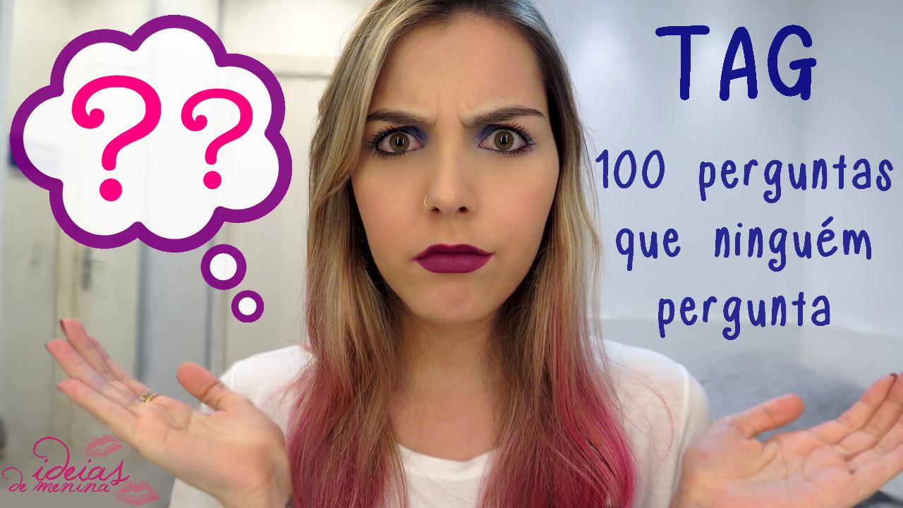 <font color='#f21696'>VÍDEO:</font> 100 perguntas que ninguém pergunta