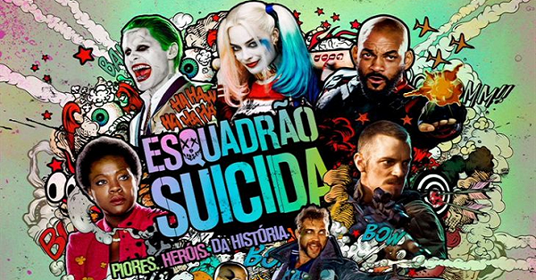 "<font color='#f21696'>CINEMA:</font> Crítica do filme ""Esquadrão Suicida"""