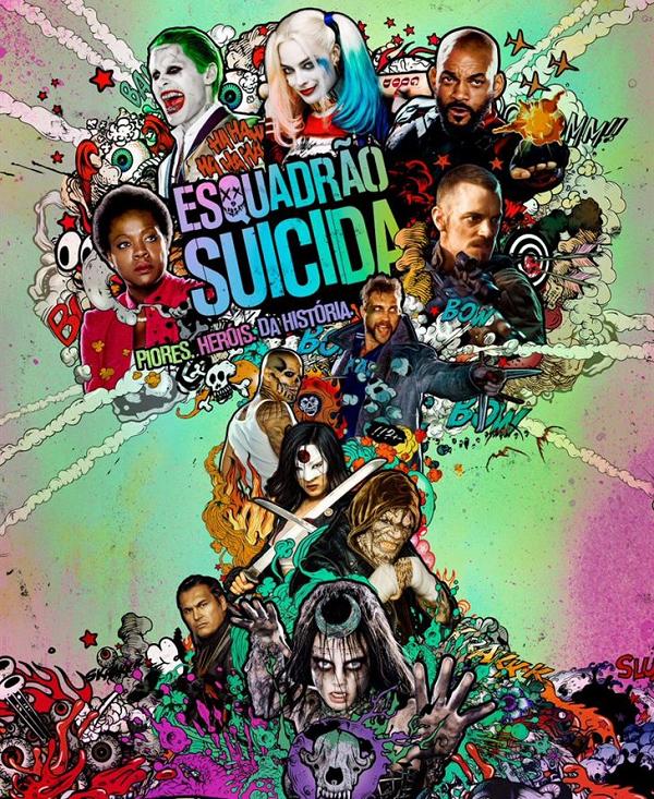 filme esquadrao suicida cinema resenha critica opiniao