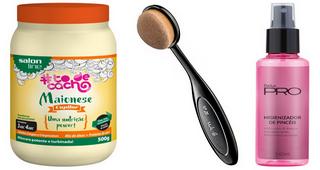 TESTEI: Maionese Capilar (Salon Line), pincel oval (Vult) e higienizador de pincéis (Dailus)