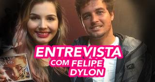 VÍDEO: Entrevistei o Felipe Dylon!